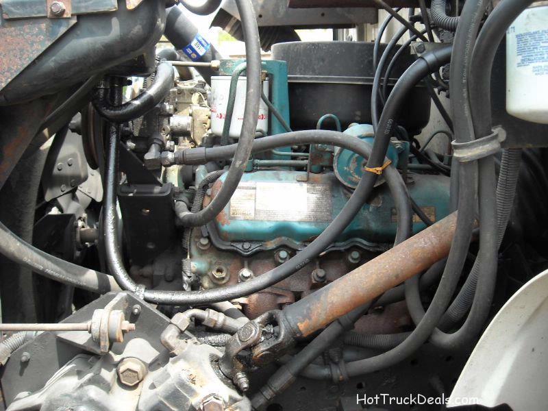 <p>1994 International 4600 turbo diesel Tow Truck Mid Grade.</p>