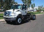 Single axle tractor